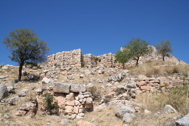 Mycenae - The Propylon of the palace