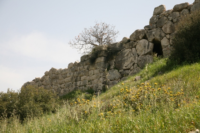 Mycenae - The northern wall and sally port