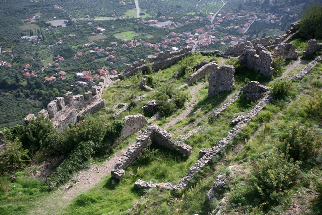 Mystras - Views from the Villehardouin castle