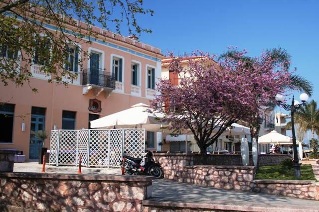 Nafplio - Typical neoclassical buildings