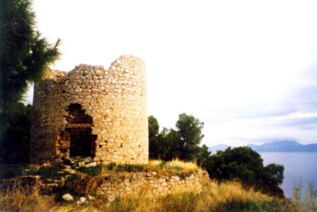 BISTI - Original windmill (milos) before renovation