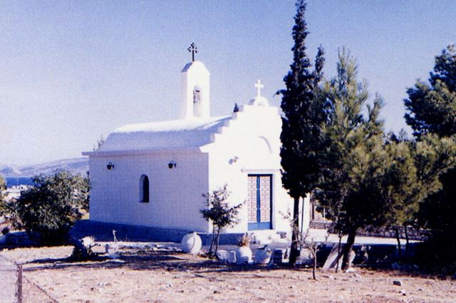 AG.ERMIONI - Church on top of Pronos Hill