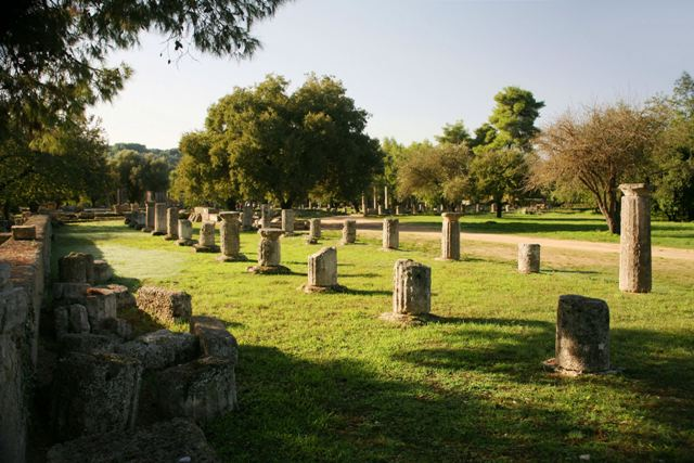 Ancient Olympia - The Gymnasium