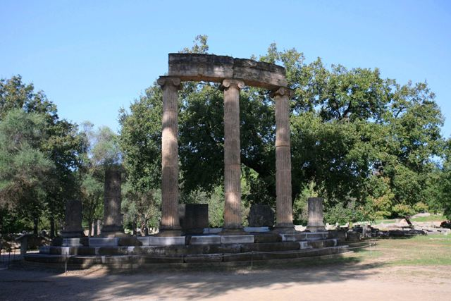 Ancient Olympia  - The Philippeion