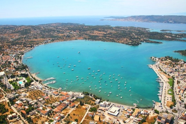 Porto Heli - Aerial view of the bay