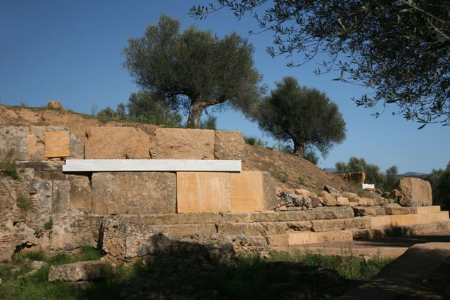 Acropolis of ancient Sparta - Highest point of the acropolis
