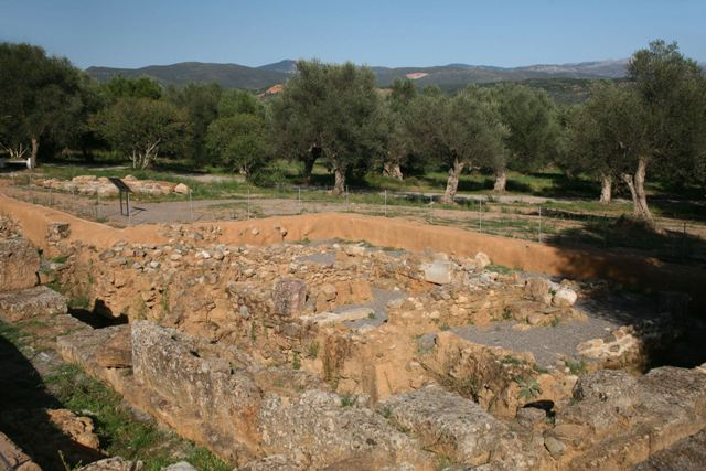 Acropolis of ancient Sparta - Archaeological remains of Lacedaemon