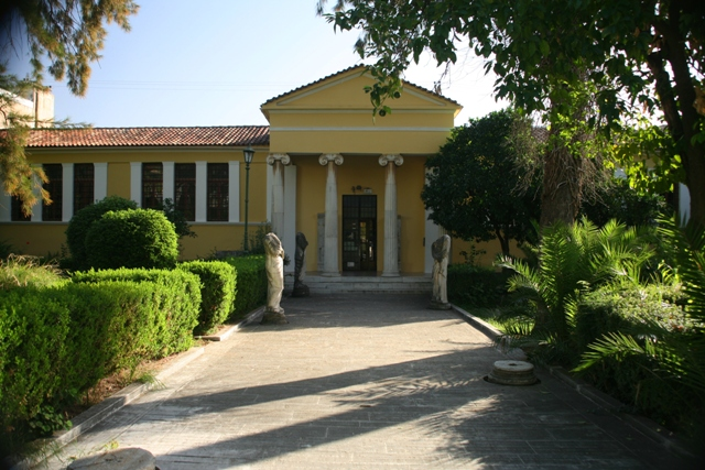 Sparta Archaeological Museum - Main entrance