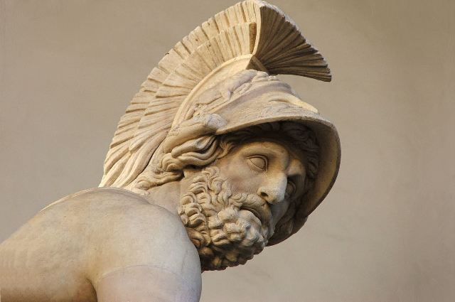 Sparta - The Mycenaean era King Menelaus, brother of Agamemnon