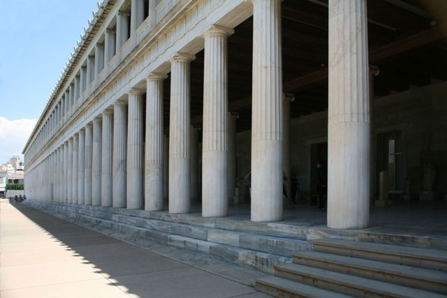 Athens - Stoa of Attalos in the ancient agora
