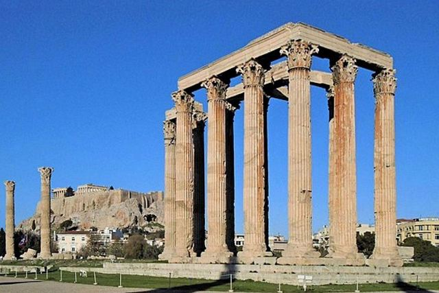 Athens - Temple of Olympian Zeus
