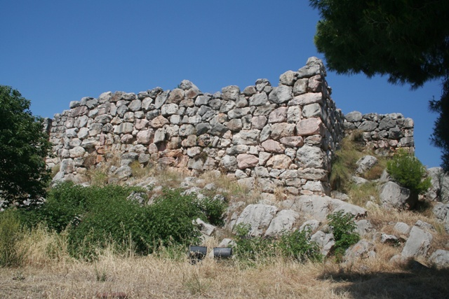 Tiryns - The Cyclopean stones on the South-West corner