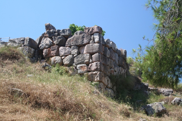 Tiryns - The South-East corner of the citadel