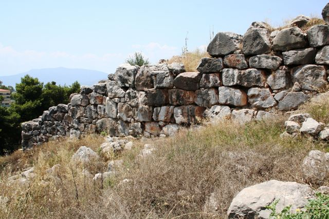 Tiryns - Walls close to the underground galleries