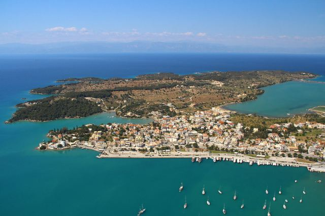 Porto Heli - Ververonda Lagoon on the middle right