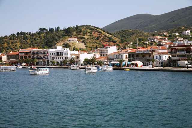 The Galatas waterfront