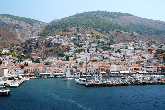 The picturesque town of Hydra