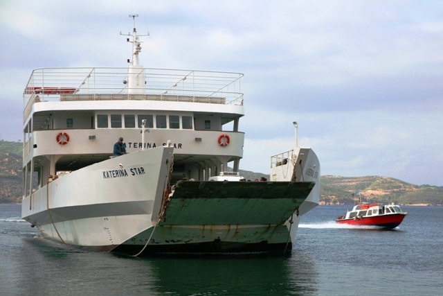 The ferry-boat is the economical way to travel
