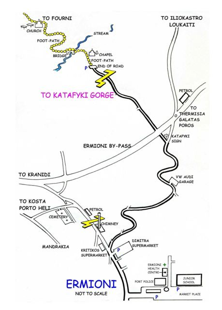 Directions to the Gorge of Katafyki