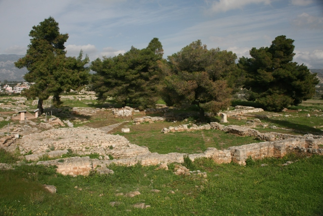 Isthmia Sanctuary - General view of the East Field