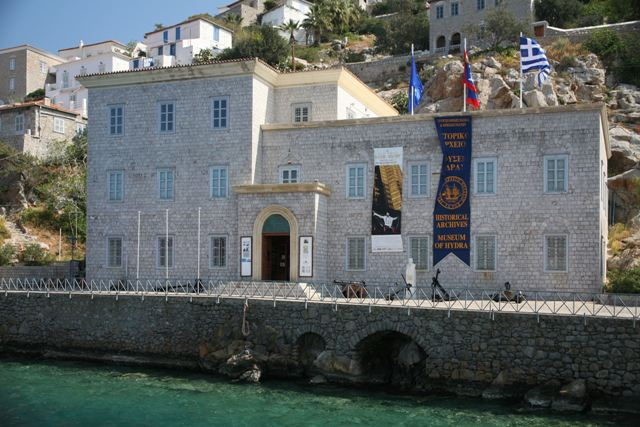 The Hydra Maritime Museum building