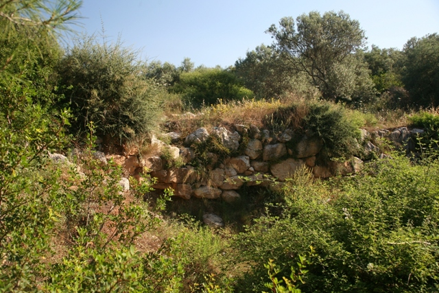 The Eastern Mycenaean bridge is not used today