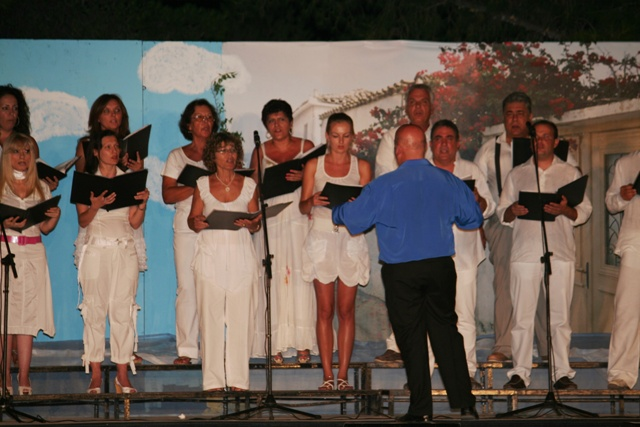 July 8 to 16 - 11th Ermioni music festival - Choir from Ermionida
