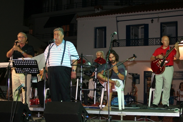July 14 to 22 - 12th Ermioni music festival - Folk evening at Mandrakia