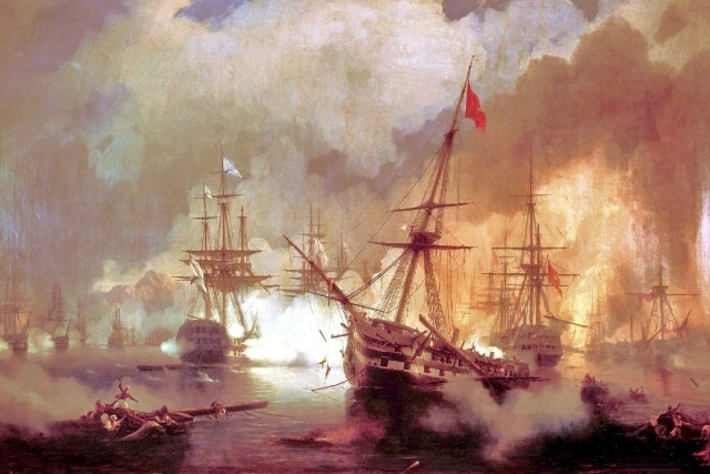 Battle of Navarino - October 1827