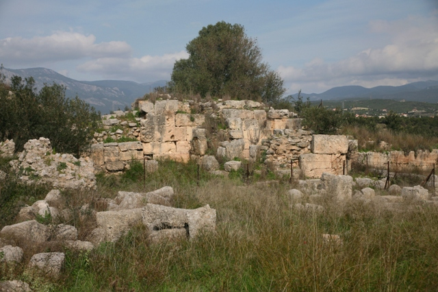 Isthmia Hexamilion fortress - Near the South gate