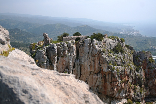 Rock climbing - View from the western Lizard rock