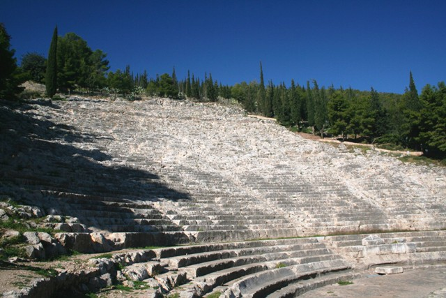 Argos: The Hellenistic 20,000 seater theatre
