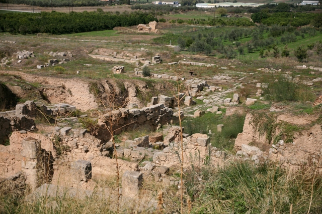The ruins of the Roman northern Agora