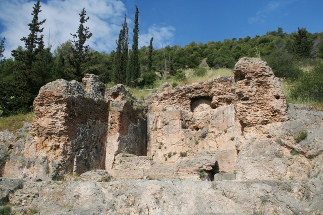 Argos: The Roman Nymphaeum water fountain