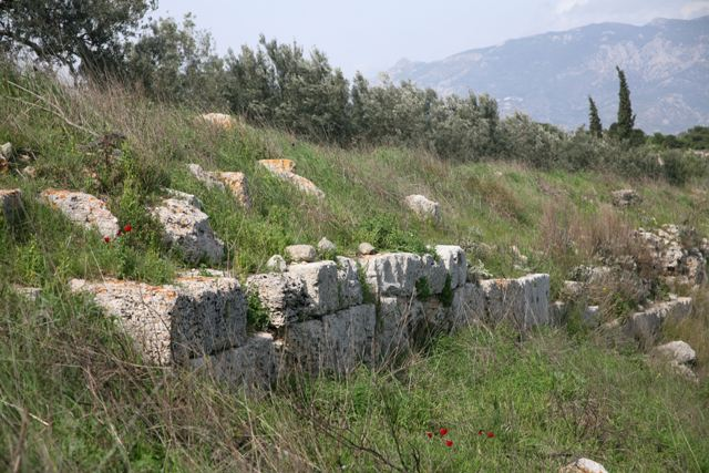 Isthmia Hexamilion wall - Northern section