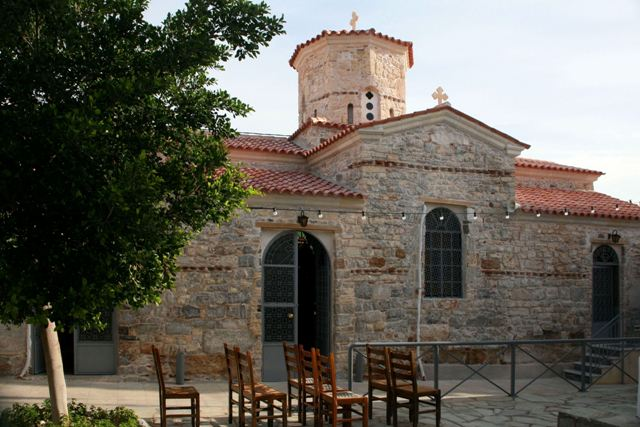 Agioi Taxiarches - 9th Cen. Byzantine church of Ermioni