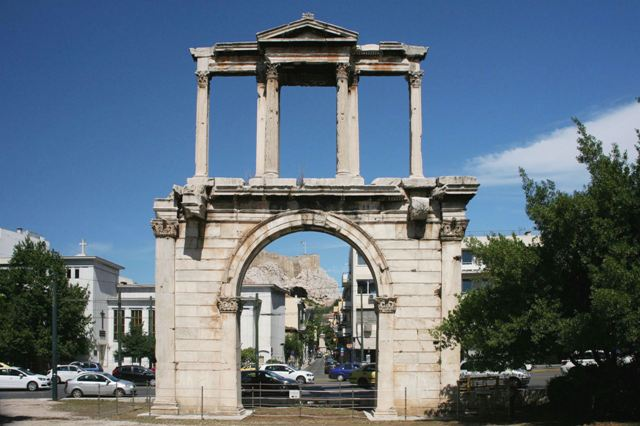 Athens - Arch of Hadrian