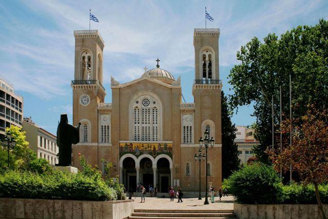 Athens - Metropolitan Cathedral of Athens