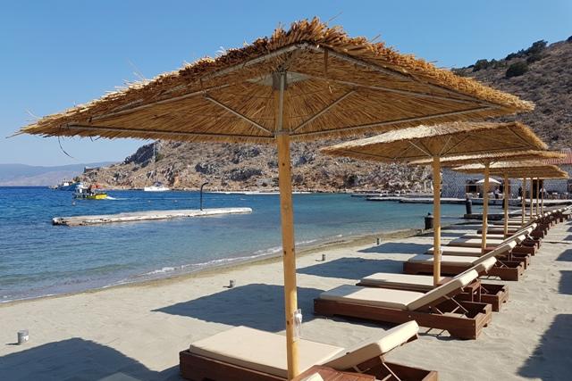 Hydra Island - Mandraki beach