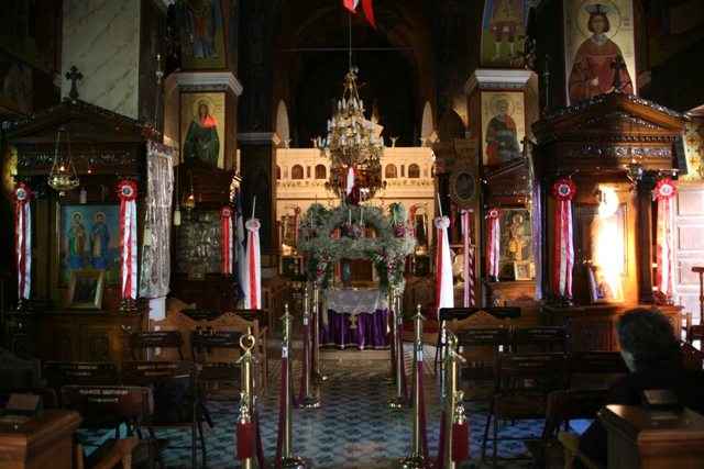 Church of Panaghia (Holy Virgin) - Beautiful church interior