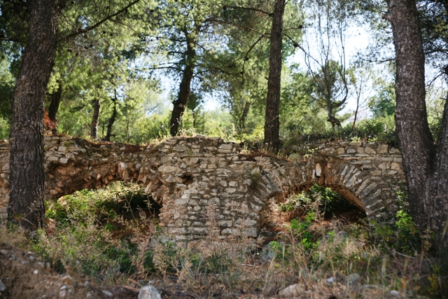 Hellenistic aqueduct brought water to the growing population