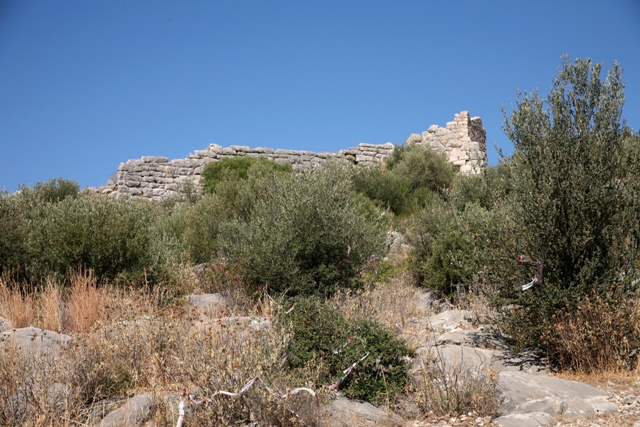 Acropolis approach from the car-parking area