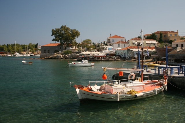The old harbour offers a different character of Spetses