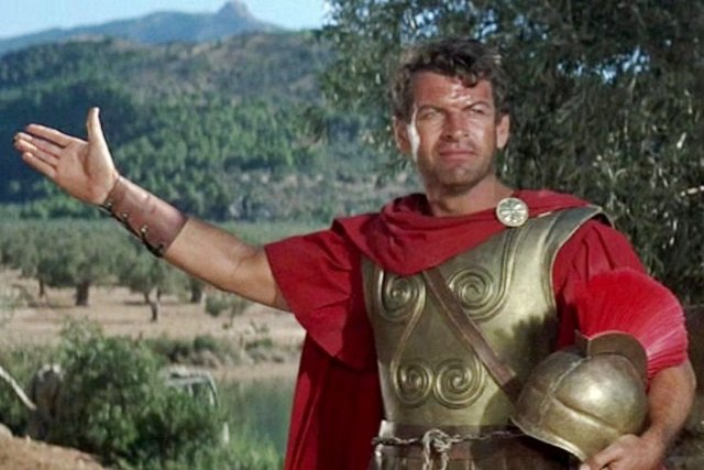 The 300 Spartans (1962) 'Spartans, from here we do not retreat'