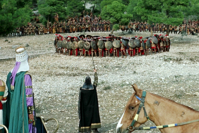 The 300 Spartans (1962) 'Finish them with arrows'