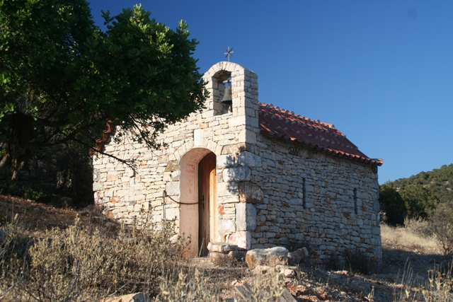 Marias' countyside church - near Ermioni
