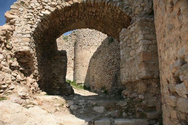 Argos: Main entrance gateway into the castle of Larissa