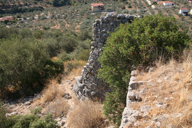 Lower tower section of the Kazarma acropolis