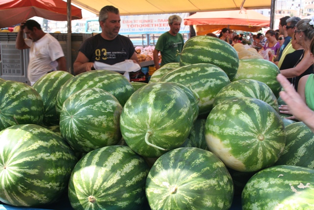 Anyone for watermelons?