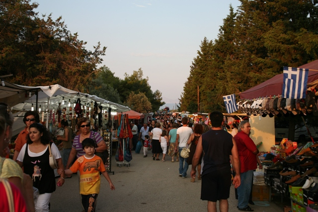 June 30 - Anargyroi festival - Market approach